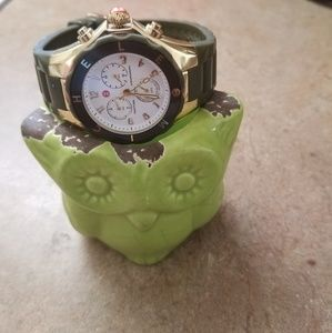 Michelle silicone band watch